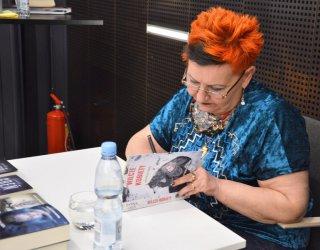 Hanna Greń odwiedziła Mediatekę 800-lecia