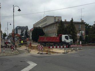 Trwa remont ul. Sienkiewicza