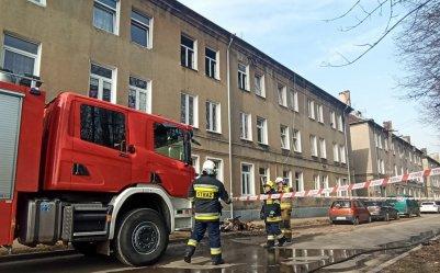 Strażacy rozpoczęli weekend od dwóch pożarów