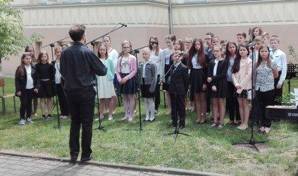 Letni Festiwal przed Szkołą Muzyczną