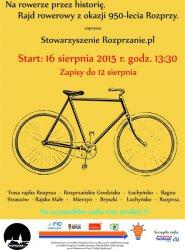 Na rowerze przez historię. Zapraszają na rajd