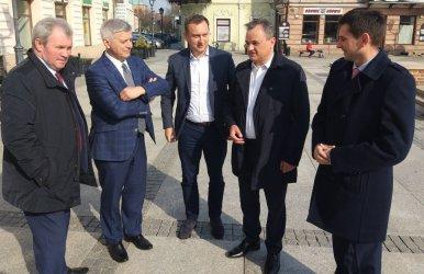 Były premier z wizytą w Piotrkowie