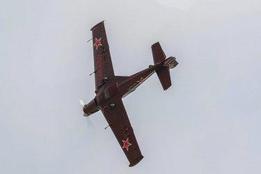 Pierwsi uczestnicy pokazów lotniczych trenowali na piotrkowskim niebie
