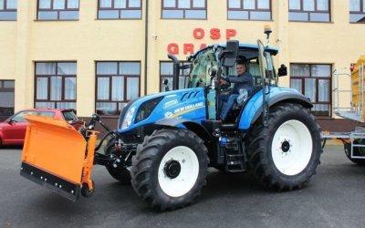 W gminie Grabica mają nowy sprzęt drogowy