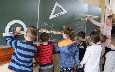 Przedszkolaki odwiedziły SP 5
