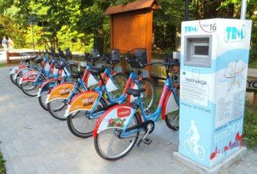 Rower miejski w Piotrkowie od lipca
