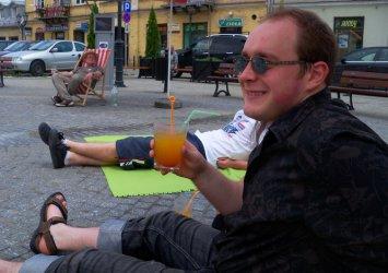 Piotrków: Leżakowali na placu Czarnieckiego