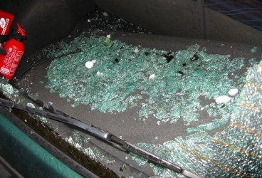 Widziałeś jak wybijali szyby w samochodach?