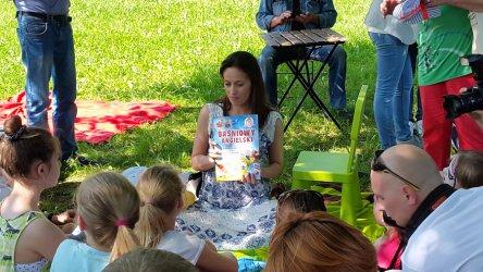 Aktorka czytała najmłodszym piotrkowianom