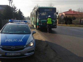 Kierowca autobusu miał 1,7 promila. Wiózł dzieci do szkoły