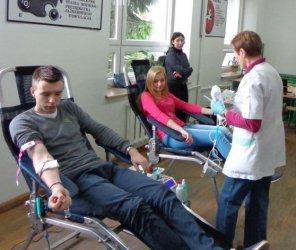 Zbierali krew dla poparzonego Michała