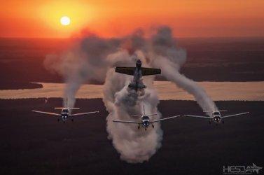 Kocha fotografię i lotnictwo
