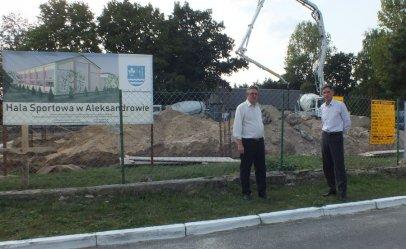 W Aleksandrowie ruszyła budowa sali