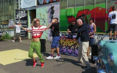 Hip hop przy Dmowskiego. W Piotrkowie powstawał klip