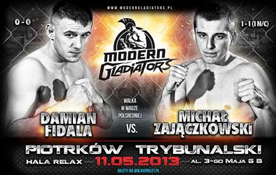 Damian Fidala powalczy na gali w Piotrkowie