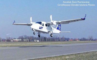 Loty pasażerskie z Piotrkowa [Aktualizacja]