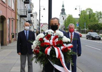 Piotrkowska lewica uczciła Święto Pracy