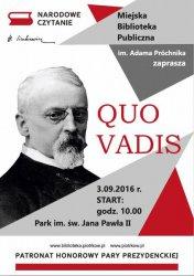 """""""Quo vadis"""" w parku"""