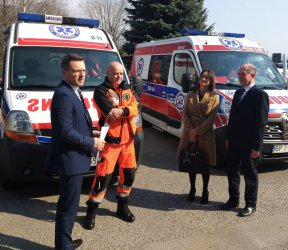 Piotrkowskie karetki będą obsługiwać 300 tysięcy mieszkańców