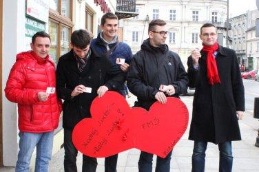 Akcja socjaldemokratów. Rozdawali