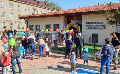 Przedszkole w Niechcicach oficjalnie otwarte (GALERIA)