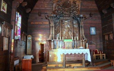 Odkrywamy znane i nieznane - Zabytkowy drewniany kościół w Spale