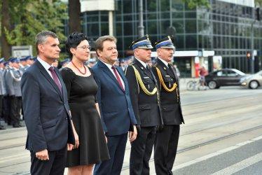 """Wójt Roman Drozdek odznaczony medalem """"Za Zasługi dla Policji"""""""