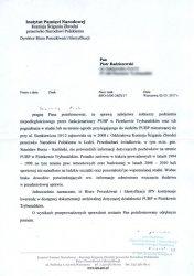 IPN nie potwierdza doniesień piotrkowian