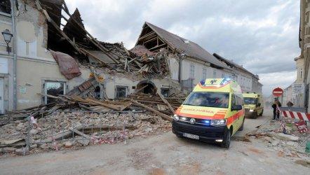 Zbiórka na rzecz ofiar trzęsień ziemi w Chorwacji