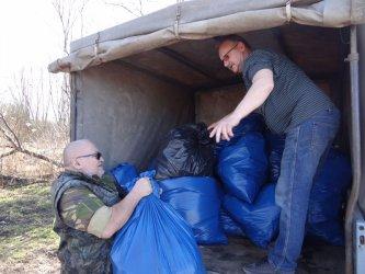 Wędkarze sprzątali w Piotrkowie i Cieszanowicach