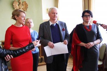 Opozycja apelowała w sprawie parku Belzackiego
