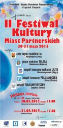 II Festiwal Kultury Miast Partnerskich