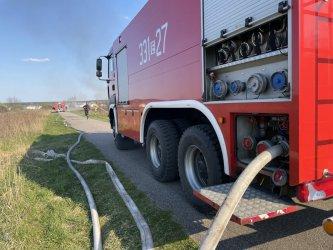 Seria podpaleń traw we wschodniej części Piotrkowa