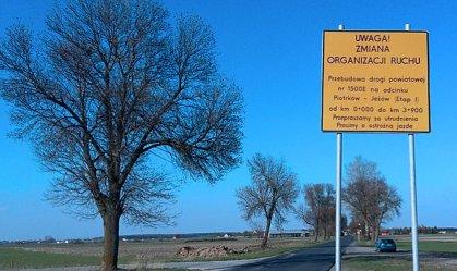 Kończy się remont drogi powiatowej Piotrków - Jeżów