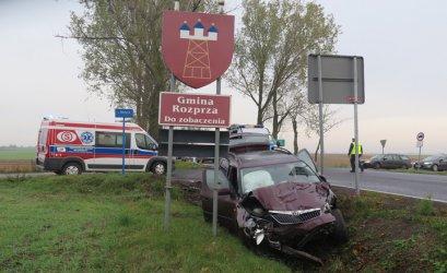 Uwaga kierowcy! Wypadek na DK91