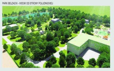Rewaloryzacja parku Belzackiego. Miasto ogłosiło przetarg