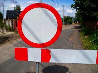 Droga Straszów - Lubień będzie nieprzejezdna