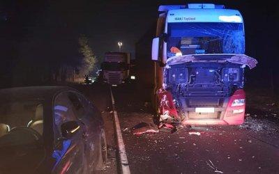 Zderzenie pięciu pojazdów w Kosowie
