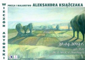 Wieczór autorski Aleksandra Książczaka