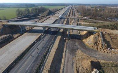 Prace przy wiaduktach nad A1. Będą utrudnienia