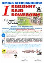 Region: Odbył się Rodzinny Rajd Rowerowy