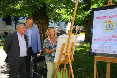 Bezpłatne plenery artystyczne dla seniorów