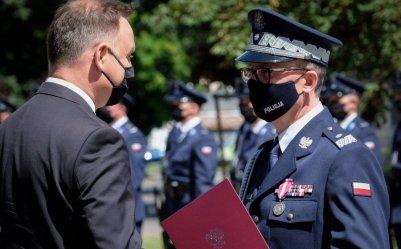 Komendant Wojewódzki Policji w Łodzi został generałem