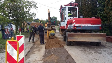 Trwa budowa kanalizacji. Jak wygląda postęp robót?