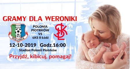 Weronika może liczyć na wsparcie Polonii i ŁKS