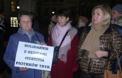 Protest przed sądem także w Piotrkowie