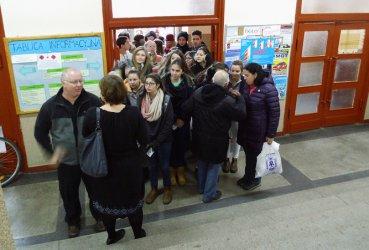 Goście z Izraela w piotrkowskich szkołach