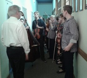 Muzycy z Finlandii zagrali w Piotrkowie