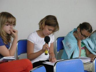 Piotrków: Głośno czytali w Amfiteatrze Miejskim