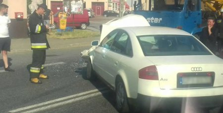 Trzy samochody zderzyły się w Srocku